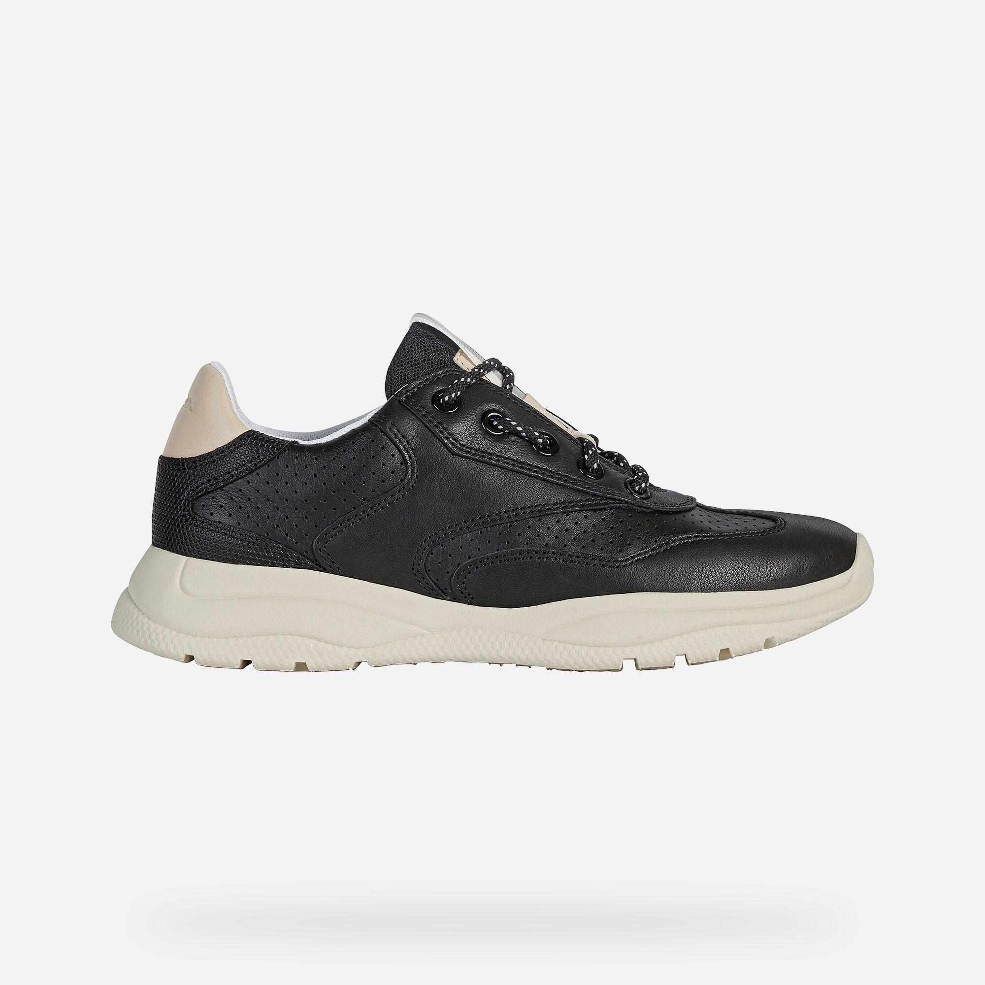 Geox SMERALDO Donna: Sneakers Nere   Geox ®