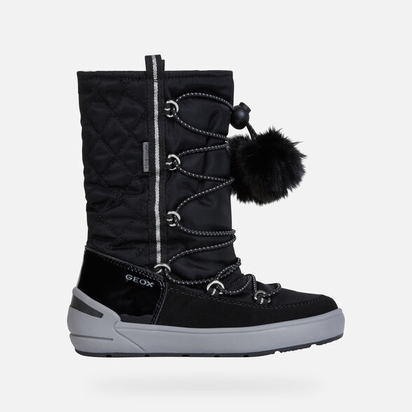 GIRL ANKLE BOOTS GEOX SLEIGH ABX GIRL - 2