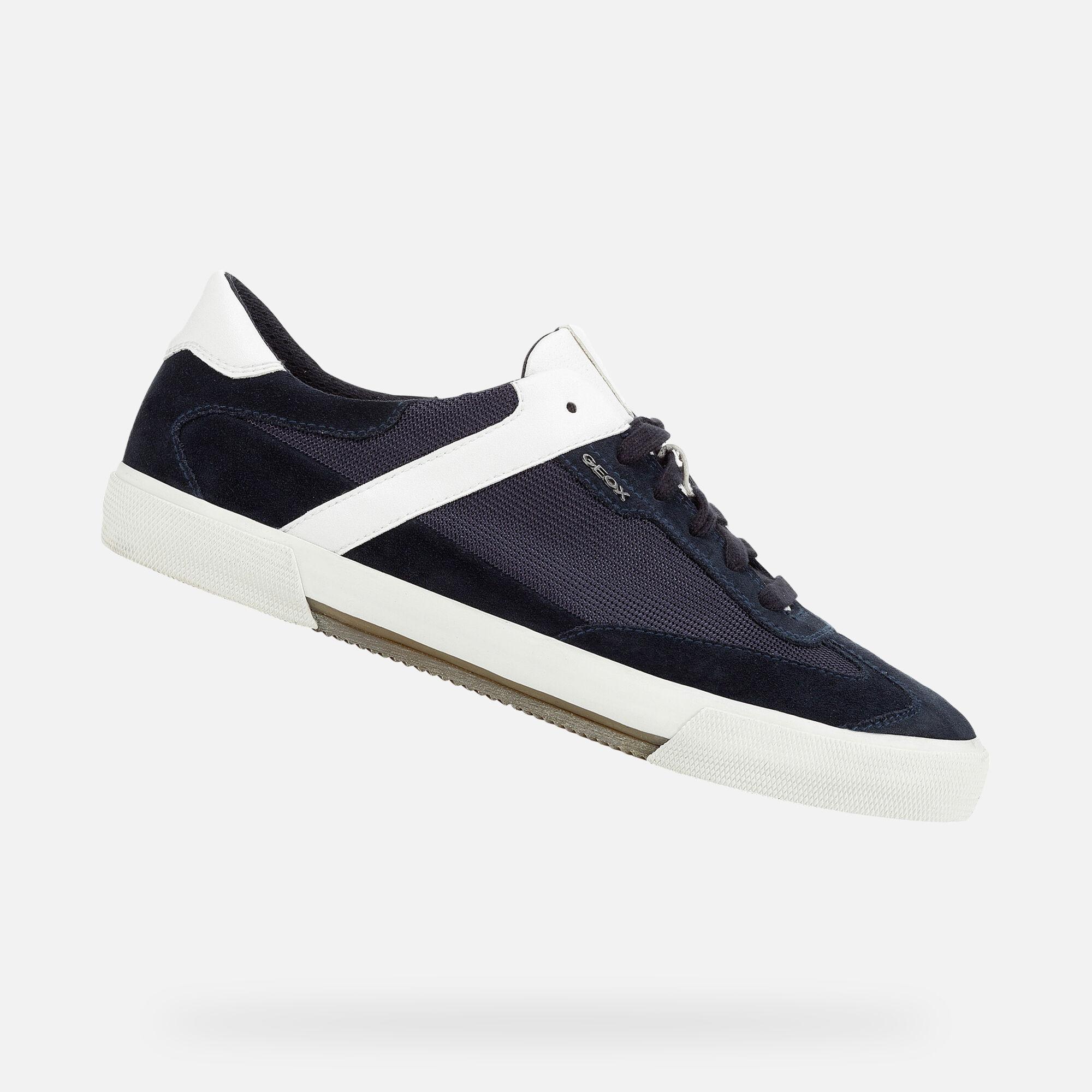 Geox Sneaker mit Respira™ Sohle Schwarz