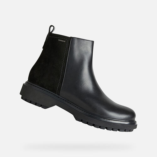 ANKLE BOOTS WOMAN GEOX ASHEELY ABX WOMAN - null
