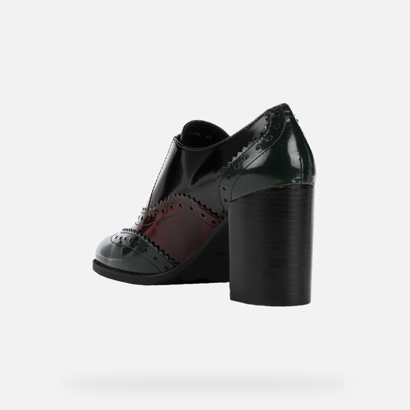 LACE UPS AND BROGUES WOMAN GEOX JACY WOMAN - 4