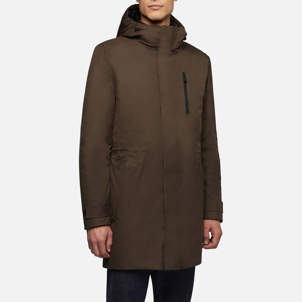 MAN ANORAKS GEOX CLINTFORD MAN - 4