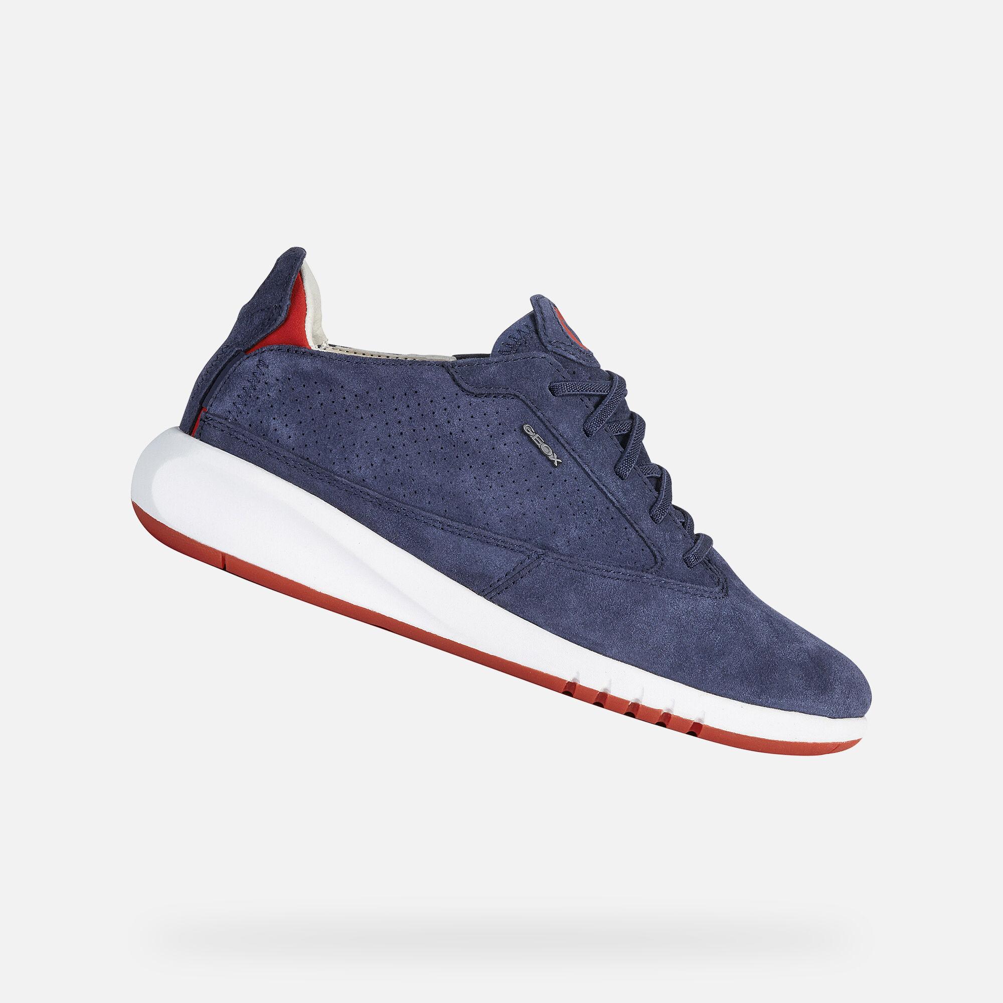 Geox AERANTIS Woman: Blue Sneakers