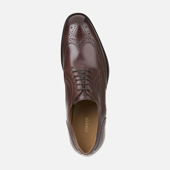 LEATHER MAN GEOX SAYMORE - 6