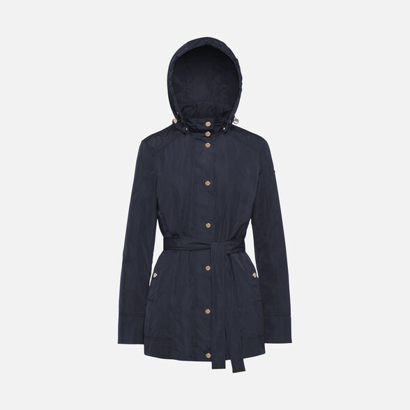 JACKETS WOMAN GEOX ANNYA WOMAN - GOTHIC BLUE