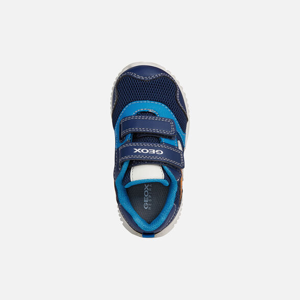 BABY SNEAKERS GEOX WAVINESS BABY BOY - 6