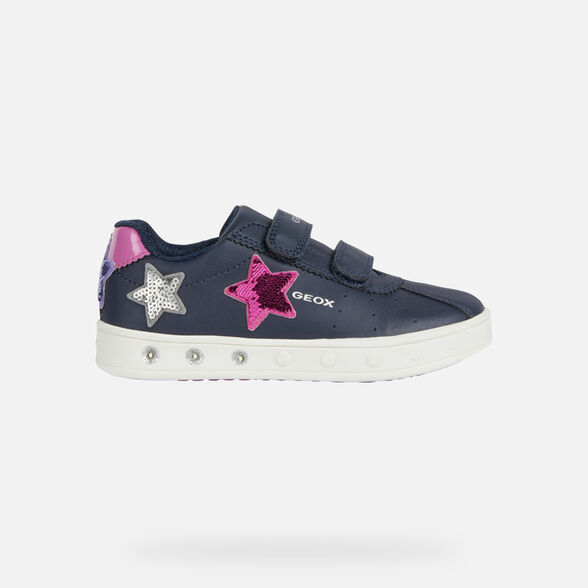 GIRL LIGHT-UP SHOES GEOX SKYLIN GIRL - 2
