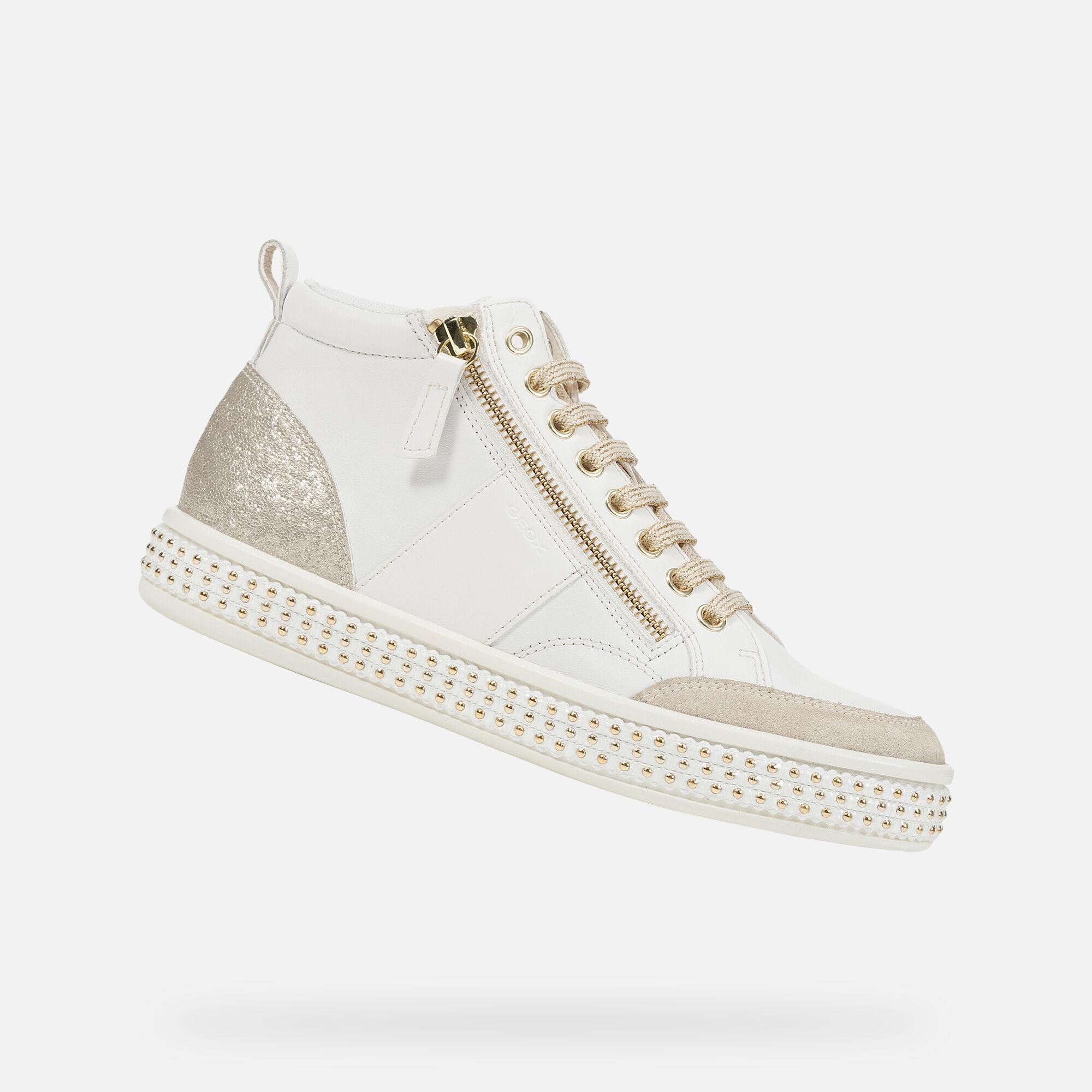 Geox LEELU' Femme Sneakers Blanches | Geox ® Boutique en