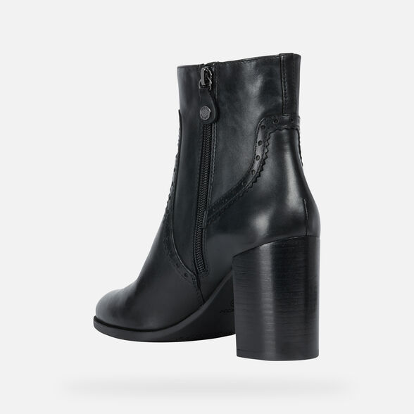 ANKLE BOOTS WOMAN GEOX JACY WOMAN - 4