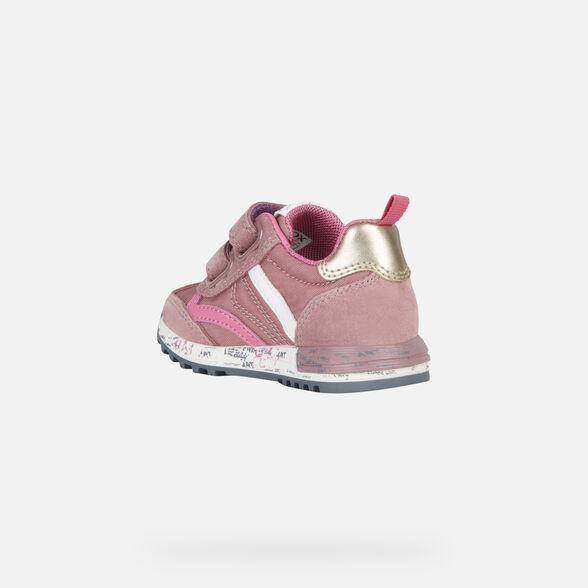 SNEAKERS BABY GEOX ALBEN BABY GIRL - 4