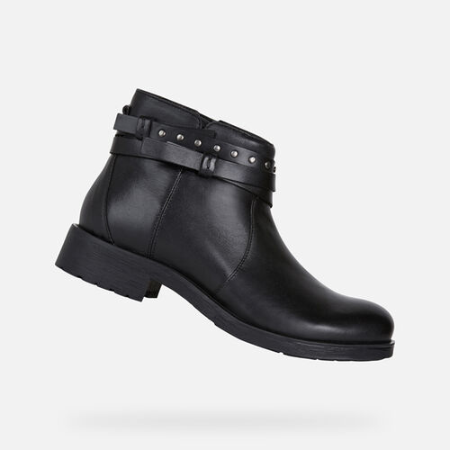 ANKLE BOOTS WOMAN GEOX RAWELLE WOMAN - null