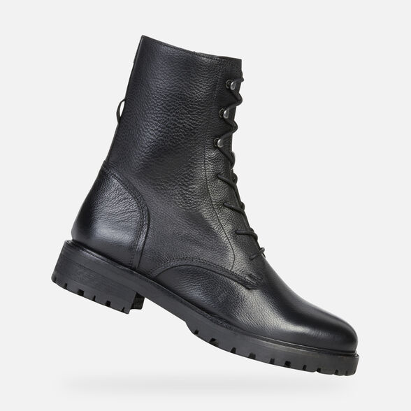 ANKLE BOOTS WOMAN GEOX HOARA WOMAN - 1