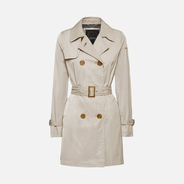 Geox Womens W Airell F Coat