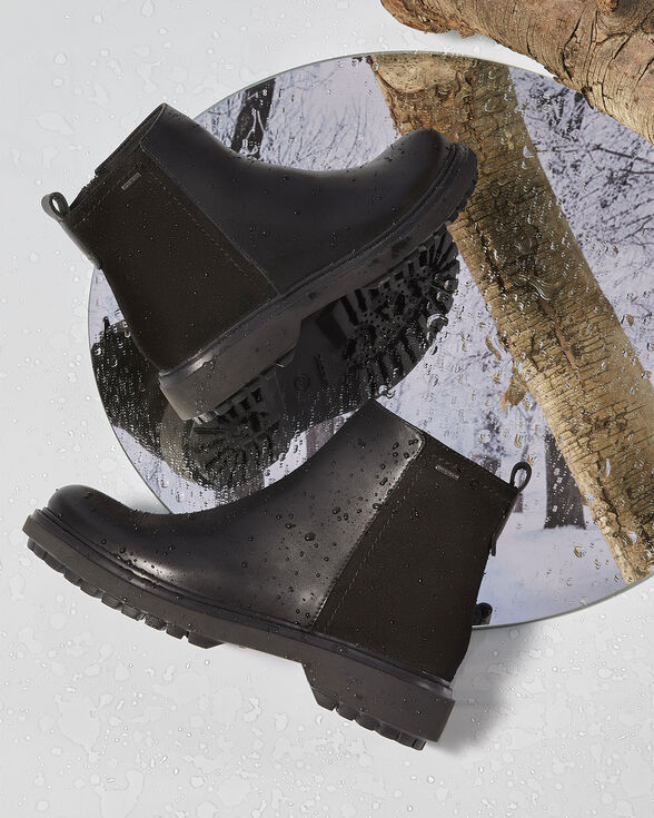 ANKLE BOOTS WOMAN GEOX ASHEELY ABX WOMAN - BLACK