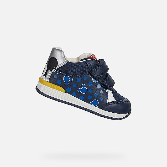 baby blue boys shoes