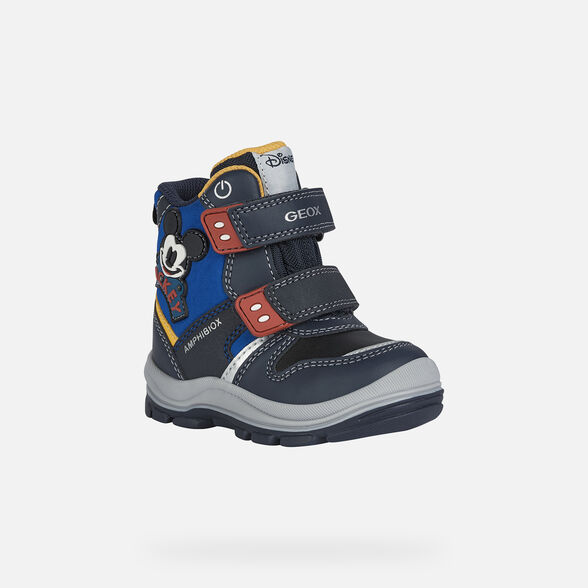 BABY MID-CALF BOOTS GEOX FLANFIL ABX BABY BOY  - 3