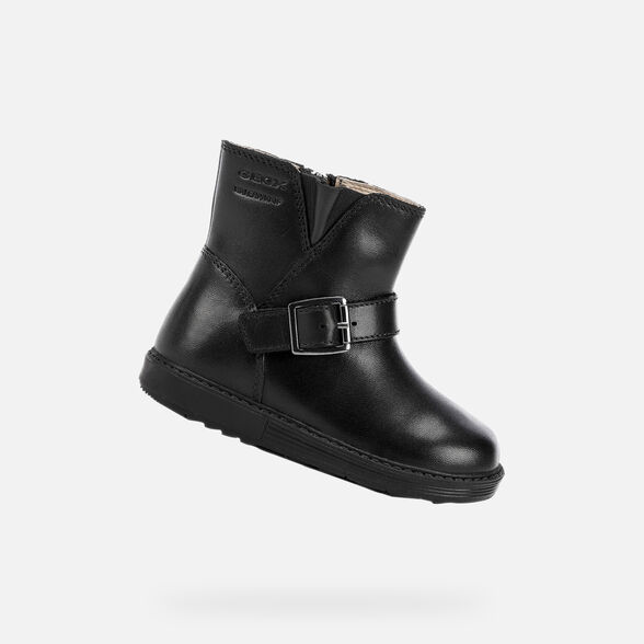 MID-CALF BOOTS BABY GEOX HYNDE BABY GIRL - BLACK