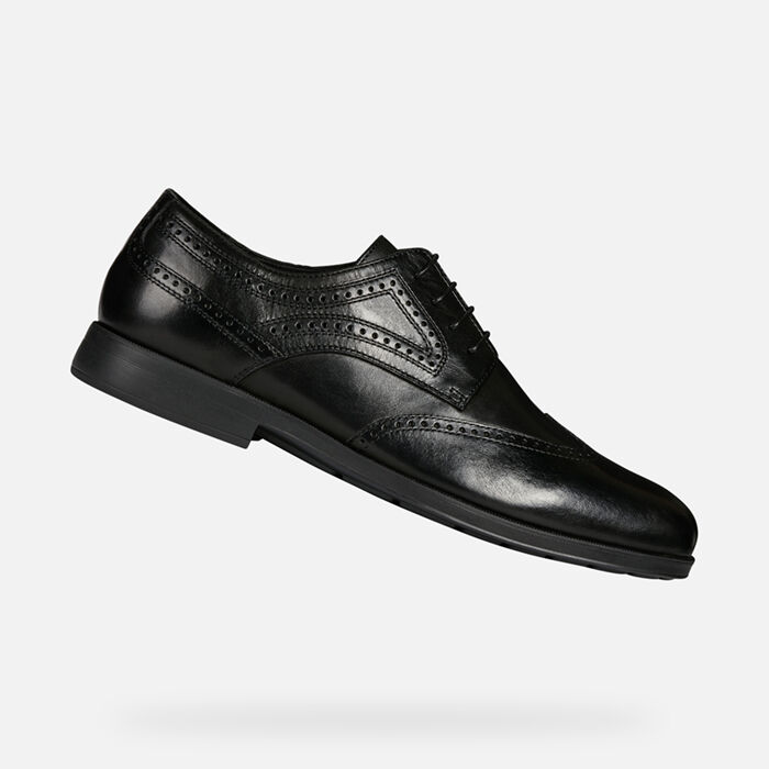 Geox Loafers & Slip Ons Black Casual Shoes for Men for sale