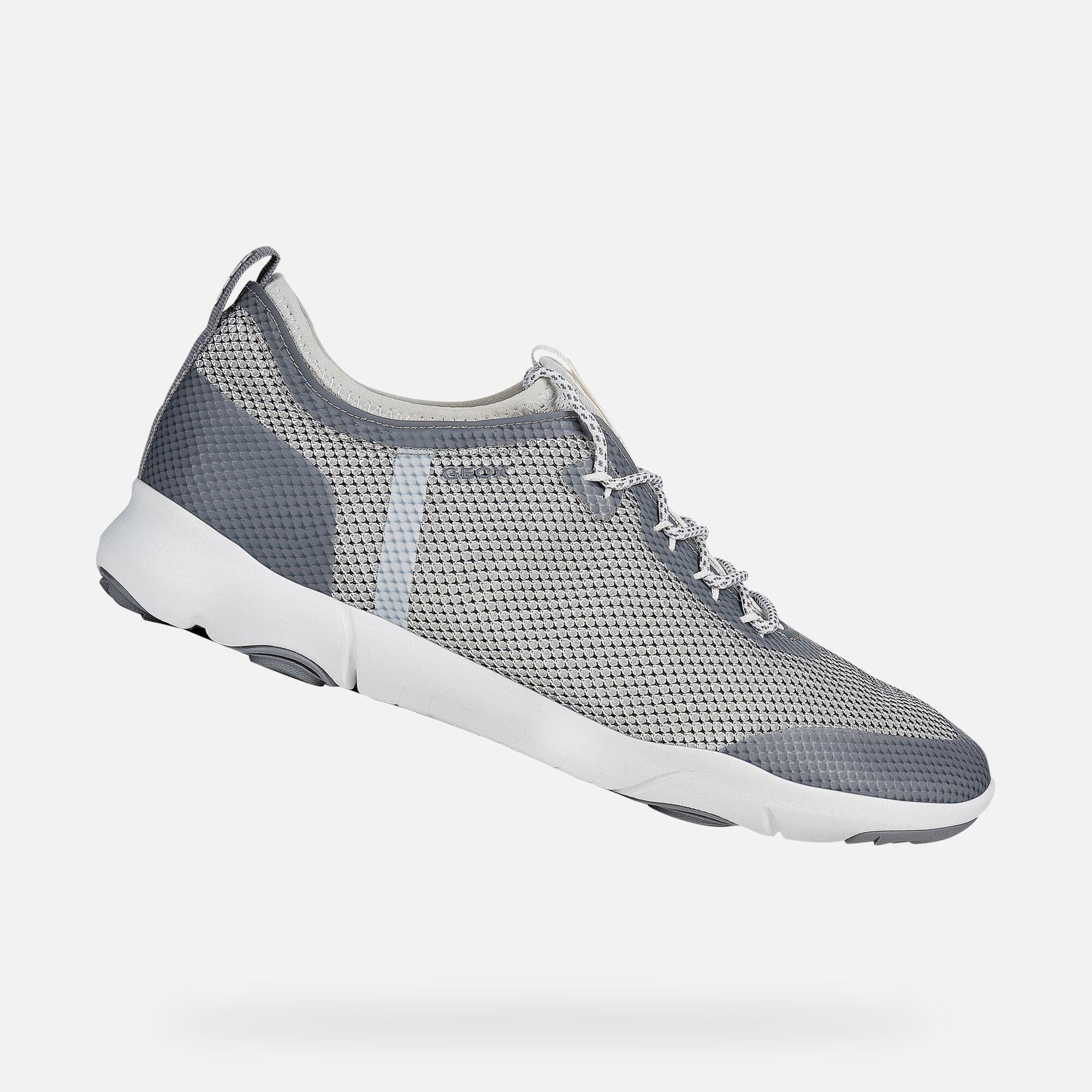 Geox U NEBULA X: White Man Sneakers | Geox SS19