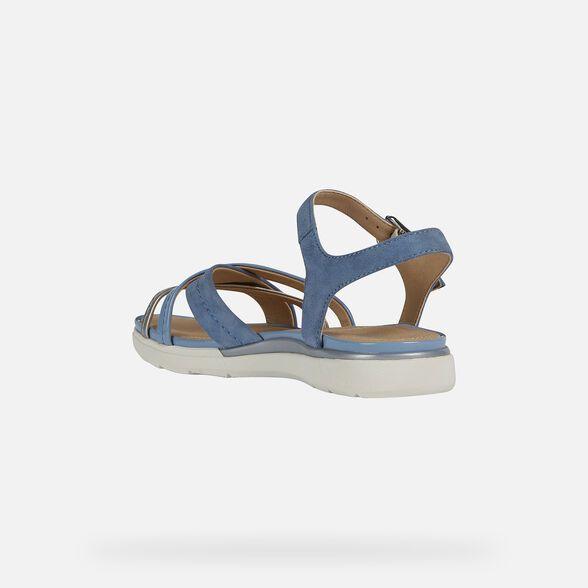 WOMAN SANDALS GEOX HIVER WOMAN - 4