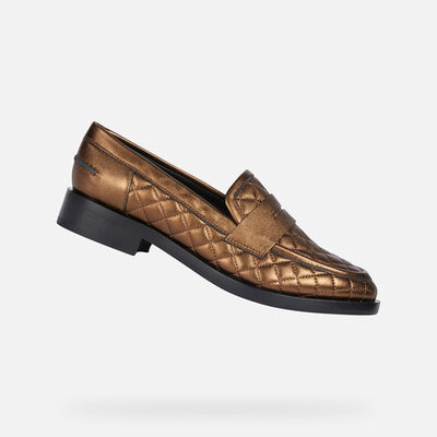 LOAFERS WOMAN GEOX BROGUE WOMAN