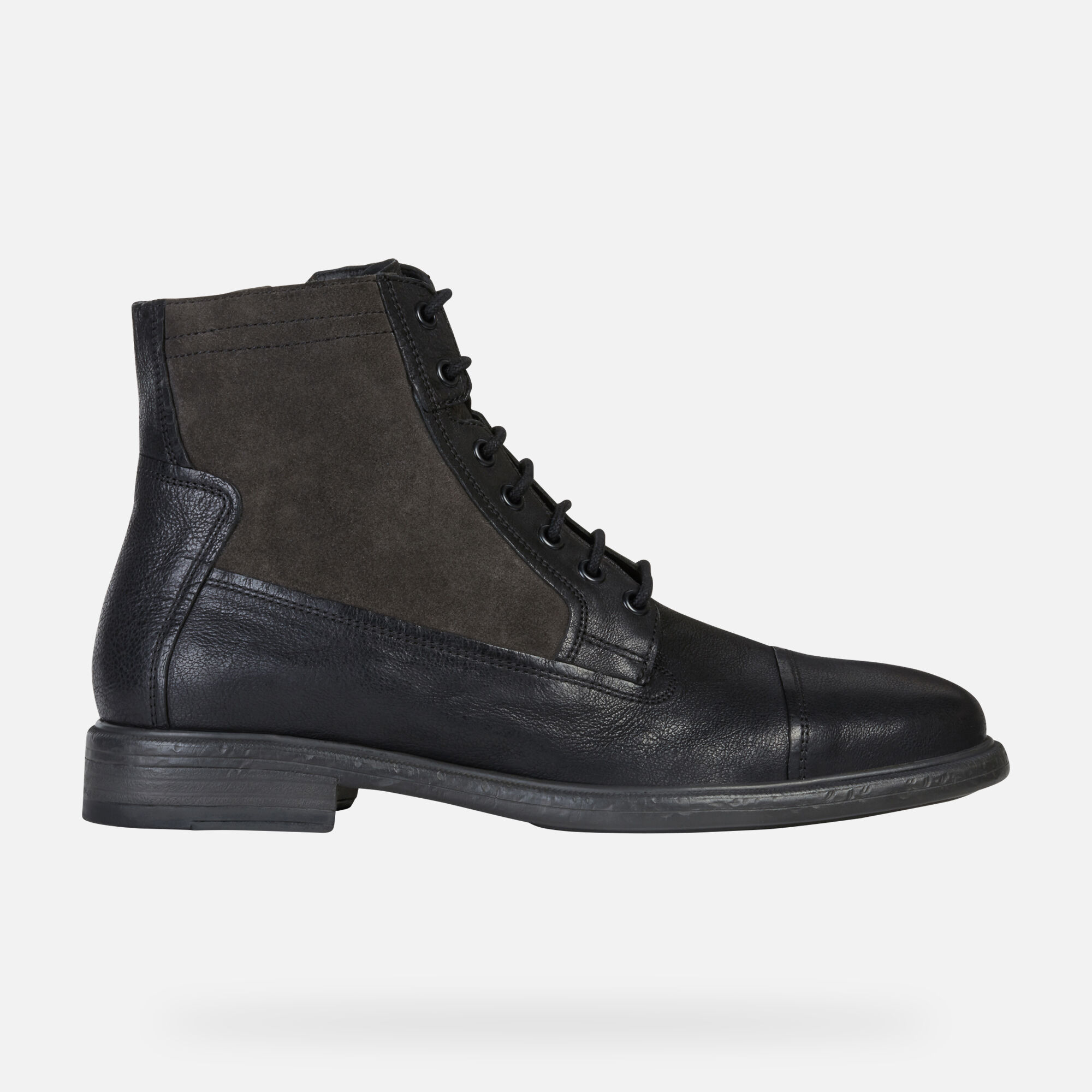 Geox TERENCE Man: Black Ankle Boots   Geox ® FW 1920