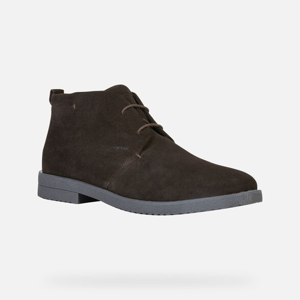 CASUAL SHOES MAN GEOX BRANDLED MAN - 3