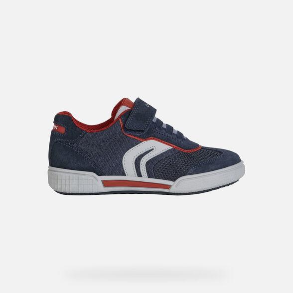 Geox Jungen J Poseido Boy F Sneaker