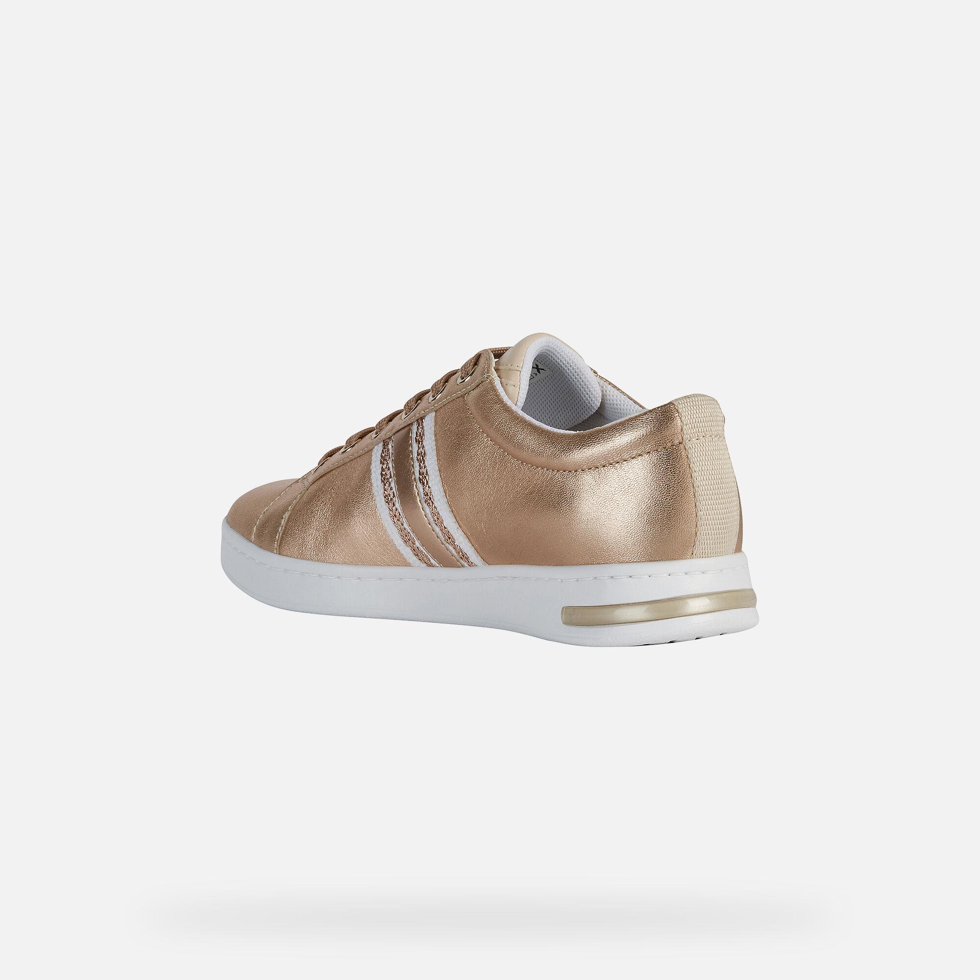GEOX !! Damen Sneaker Schnürschuh Gr. 41 UK 7,5 altrosa