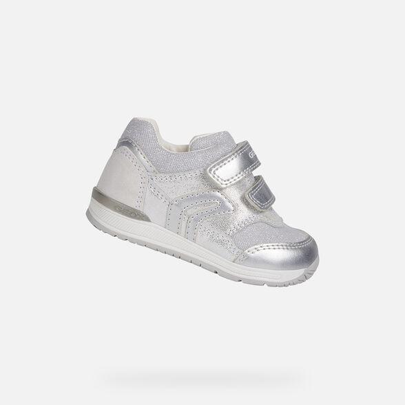 Proceso Porque Borde  Geox RISHON GIRL Baby Girl: White First Steps   Geox® FW20/21