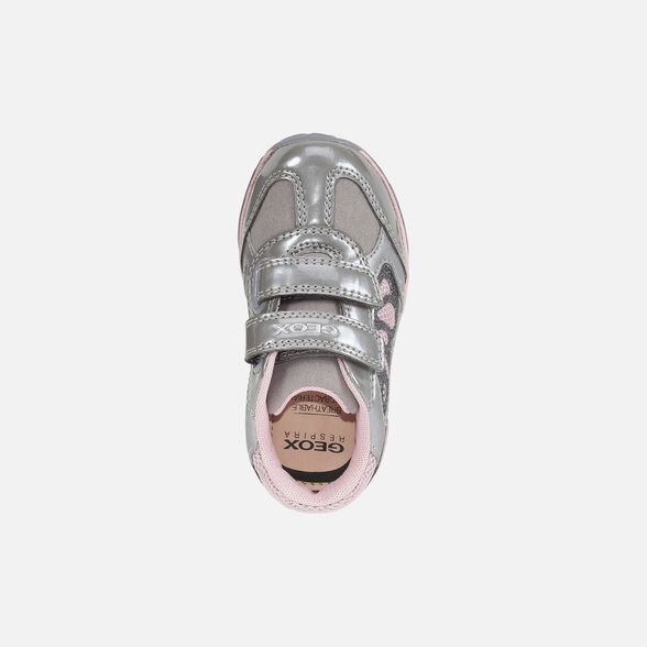 LIGHT-UP SHOES BABY GEOX TODO BABY GIRL - 6