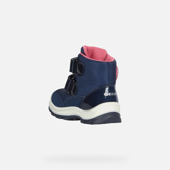 LIGHT-UP SHOES BABY GEOX FLANFIL BABY GIRL ABX - 4
