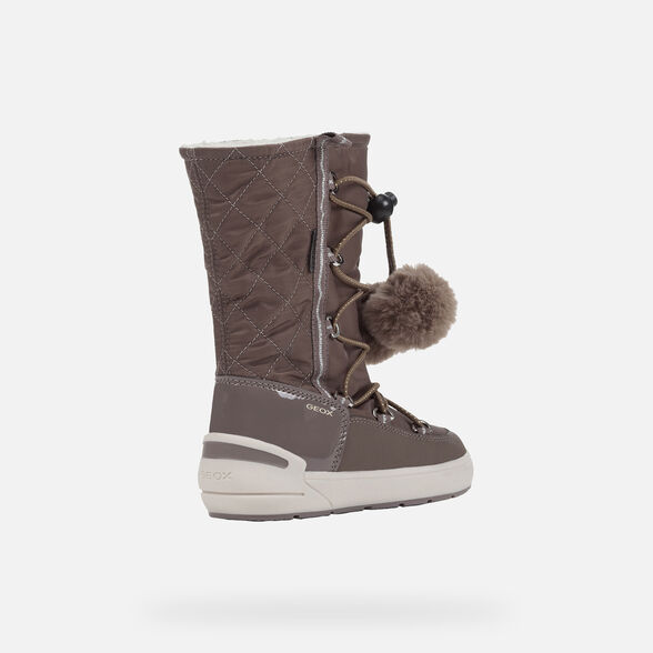 BOTTINES FILLE GEOX SLEIGH ABX FILLE - 5