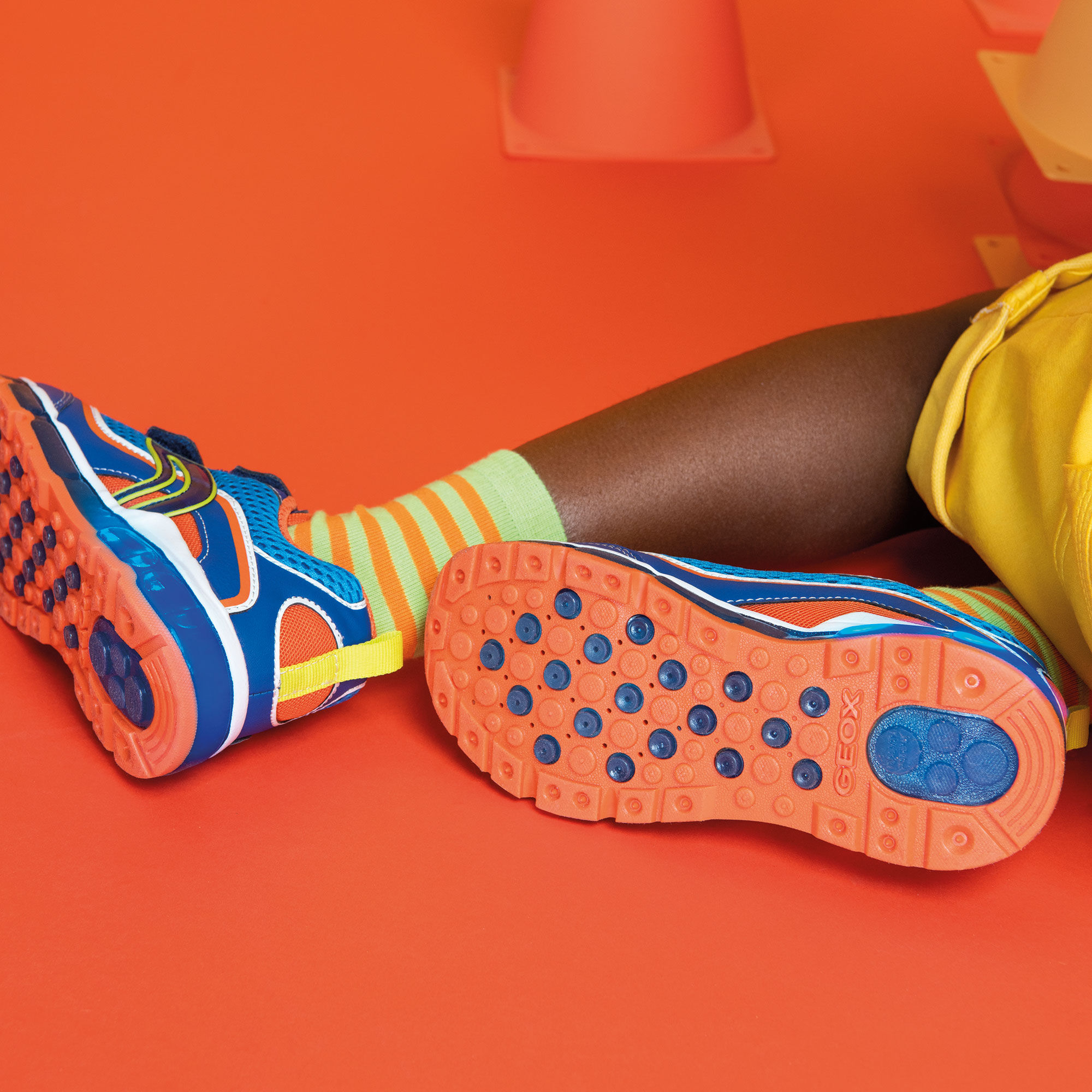 Geox ANDROID Bambino: Sneakers Blu reale | Geox SS20