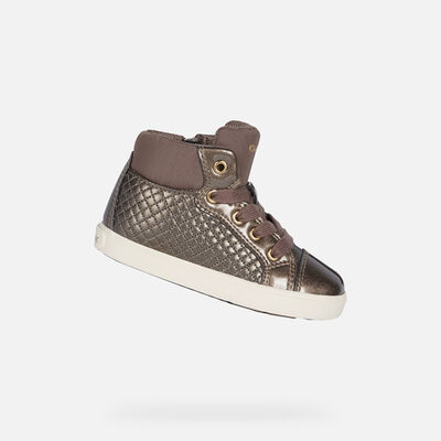 HIGH TOP BABY GEOX KILWI BABY GIRL