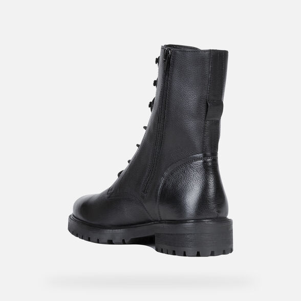ANKLE BOOTS WOMAN GEOX HOARA WOMAN - 4