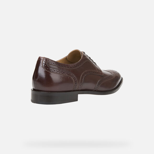 LEATHER MAN GEOX SAYMORE - 5