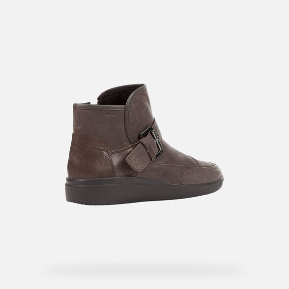 ANKLE BOOTS WOMAN GEOX TAHINA WOMAN - 5