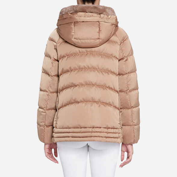 WOMAN DOWN JACKETS GEOX CHLOO WOMAN - 6