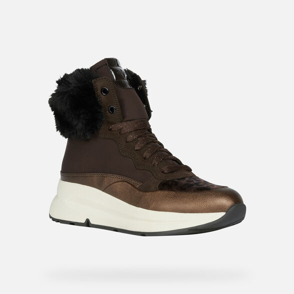 ANKLE BOOTS WOMAN GEOX BACKSIE ABX WOMAN - 3