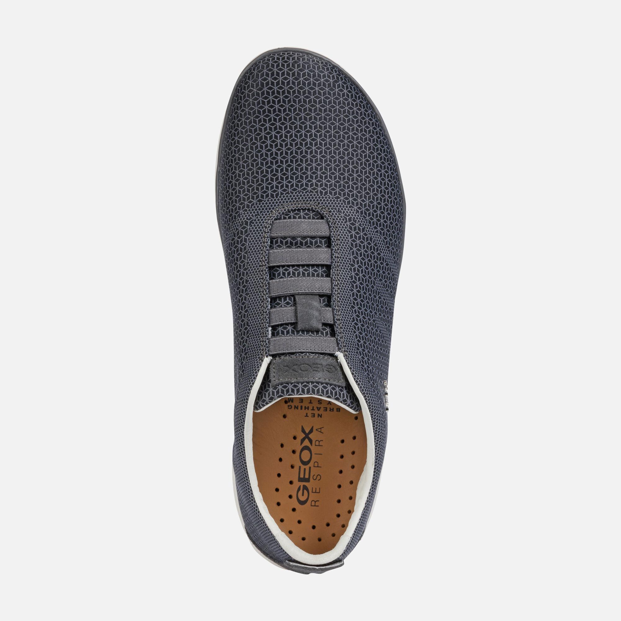 Geox NEBULA Man: Black Sneakers