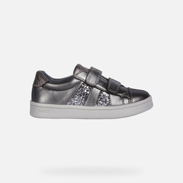 LOW TOP GIRL GEOX DJROCK GIRL - 2