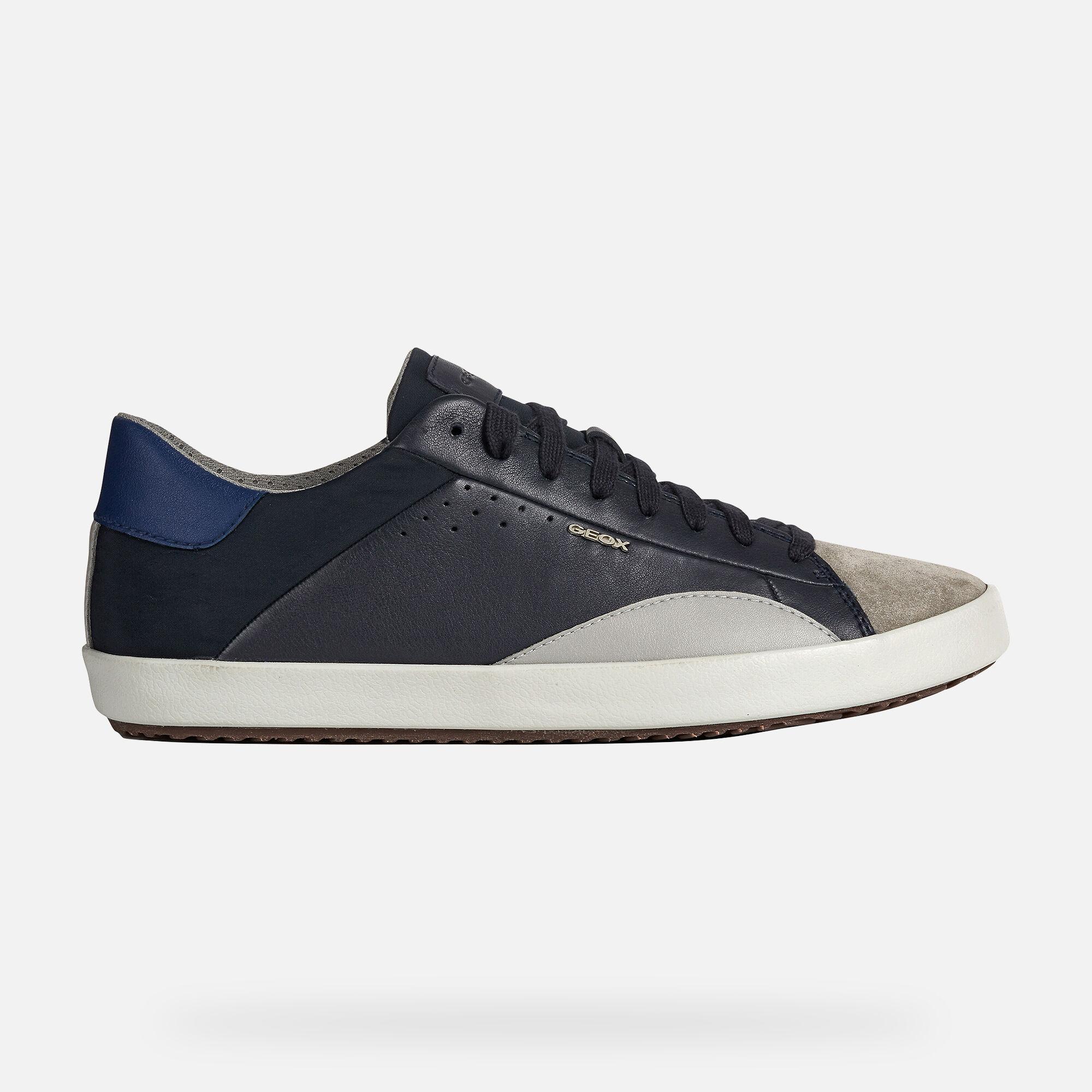 Geox WARLEY Man: Navy blue Sneakers
