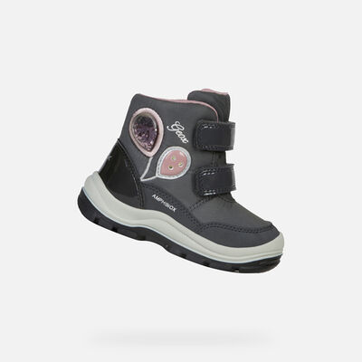 SCARPE CON LUCI BABY GEOX FLANFIL BABY BIMBA ABX