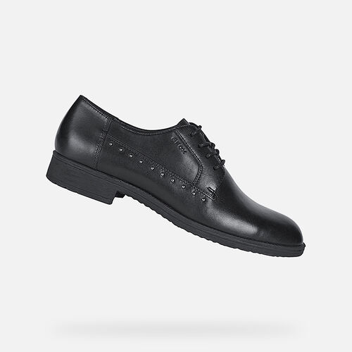 LACE UPS AND BROGUES WOMAN GEOX JAYLON WOMAN - null