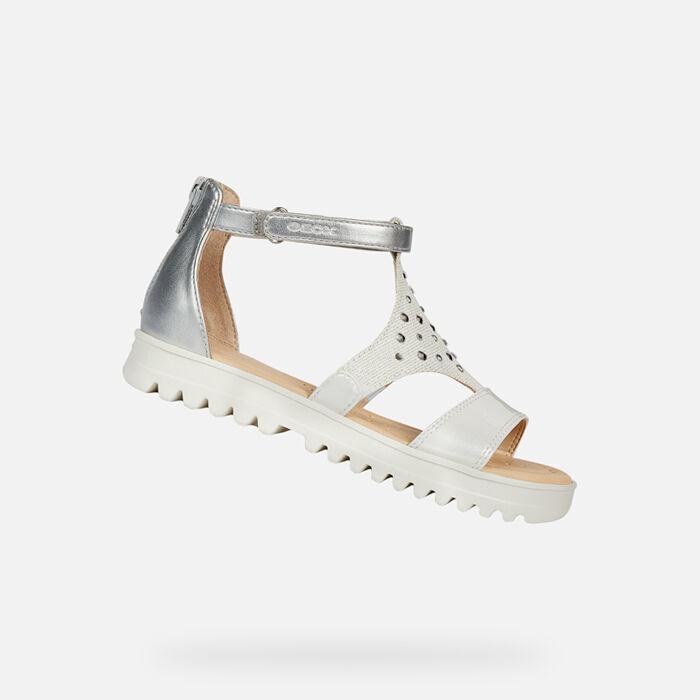 SandalsGeox Elegant Casual Girls' Breathable Or OuPkXiZ