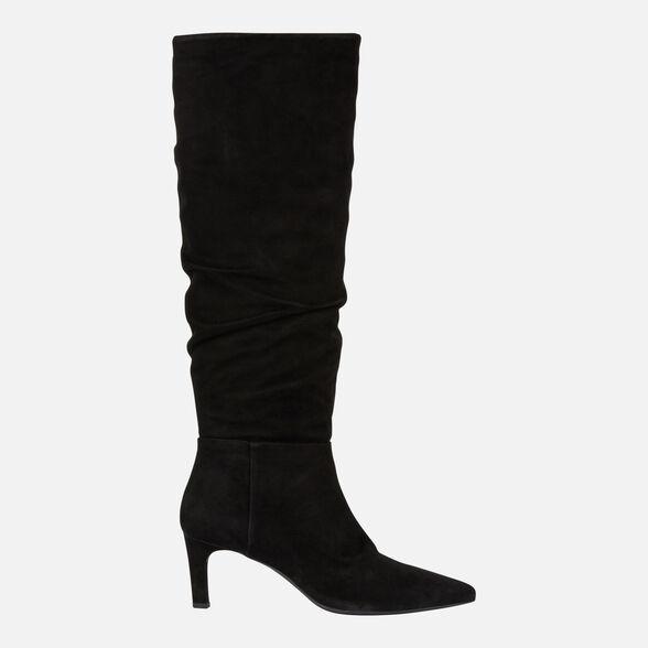 real mejor valorado especial para zapato el precio se mantiene estable Geox BIBBIANA Mujer: Botas Negras   Geox ®