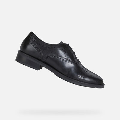 LACE UPS AND BROGUES WOMAN GEOX BETTANIE WOMAN