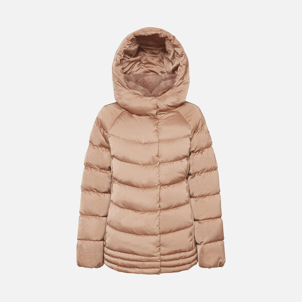 WOMAN DOWN JACKETS GEOX CHLOO WOMAN - 1