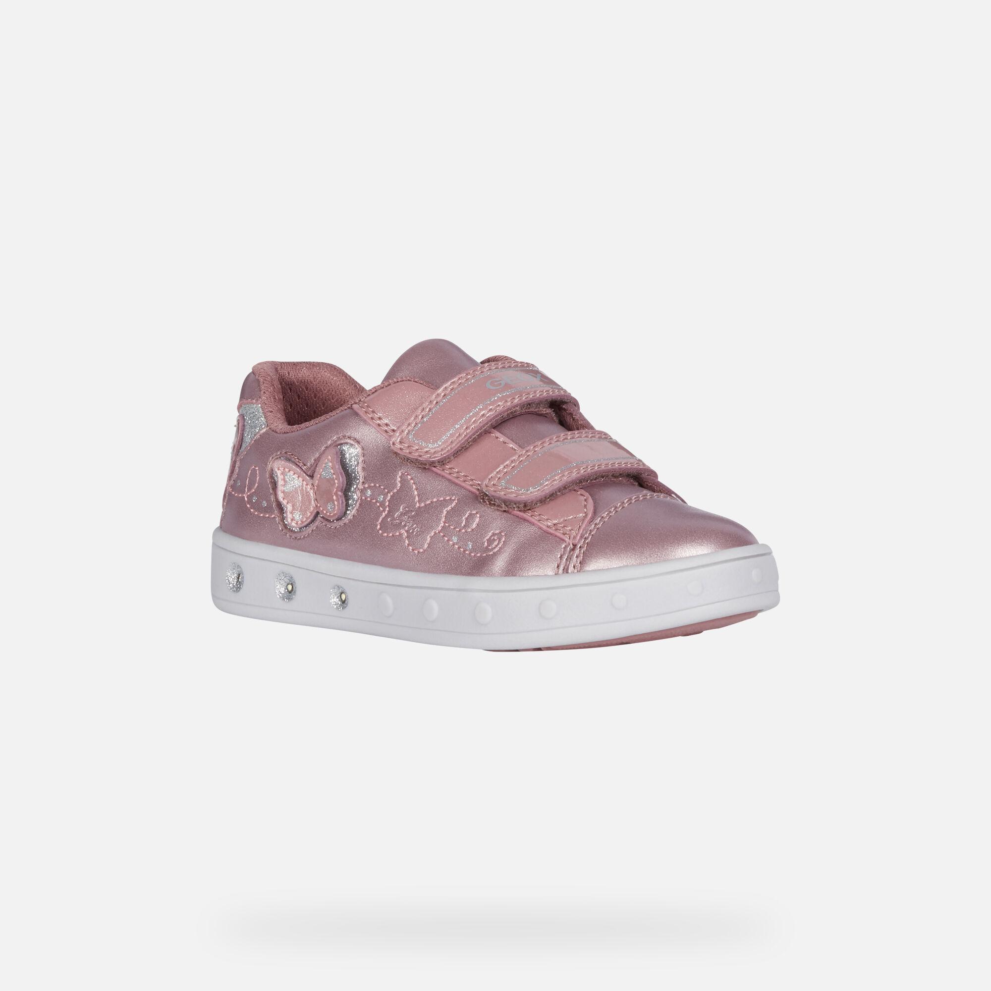 Geox SKYLIN Junior Girl: Dark pink Sneakers | Geox Fall Winter